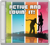 ACTIVE AND LOVIN' IT album cover
