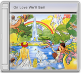 ON LOVE WE'LL SAIL album cover