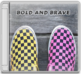 Bold and brave CD cover